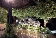 COMPILATION OF GARDEN DECORATION by  Menara Mandiri by IKK Wedding (ex. Plaza Bapindo)