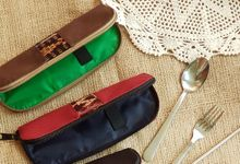 Cutlery pouch by Indhe