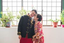 Wedding Day of Cheryl and Bobby at UNA at One Rochester Singapore by oolphoto