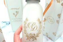 Frosted Drinking Bottle Jumbo Include Packaging by Fine Souvenir