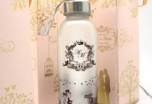 Drinking Bottle Jumbo Include Paperbag by Fine Souvenir