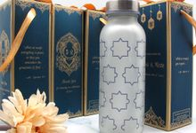 Drinking Bottle Include Personalised Paperbag by Fine Souvenir