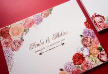 Blossom Garden Prabu & Melisa by Bubble Cards