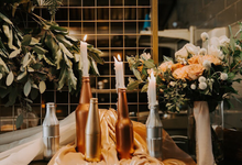 Romantic Industrial Styled Shoot with Bridestory by Bucket Full Of Roses