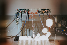 Copper and Blue Magical Wedding by Bucket Full Of Roses