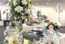 A Floral Wedding by Manna Pot Catering