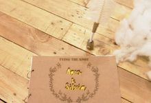 Rustic Wooden Guestbook by TalkingCard