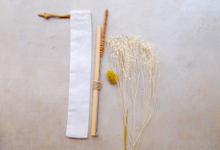 BUMI's Bamboo Straws & Coconut Brush by Bumi