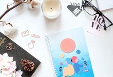 Notebook invitation by Sagu Hati