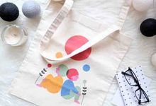 Canvas Tote bag by Sagu Hati