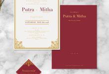 Putra & Mitha by Petite Chérie Invitation