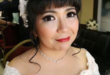 Wedding Day of Salomo & Irene by Nike Makeup & Hairdo