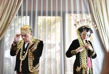 VIANDA & RIZKI - WEDDING RECEPTION by Promessa Weddings