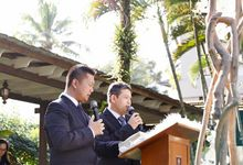 The Wedding Nathalian And Herman by C+ Productions