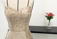 Sister & Prewedding gown by by Evadne atelier