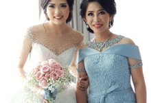 Morning & Reception Mom Gown both from by.evadne by by Evadne atelier