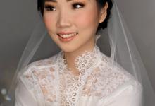 Air Brush Wedding Make Up for Christy by by Katarina Novita MUA