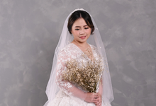 Air Brush Wedding Make Up & Hair Do for Jess by by Katarina Novita MUA