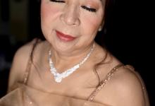 Air Brushed Make Up & Hair Do for Bride's Mom by by Katarina Novita MUA
