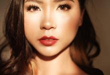 glowy skin red lips by by_nadiaachmad