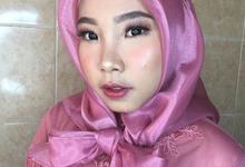 Make up for ms. Atikah by byreginaarifah