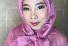 Make up for ms. Atikah by byreginaarifah