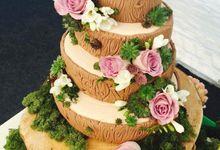Wedding Cake by Nika di Bali