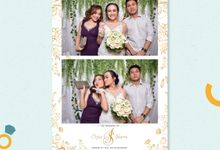 Irfan & Sharon Wedding by Mooilux Photobooth