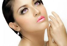 glowing makeup by Audy makeup
