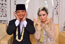 The Wedding of Ika & Umar by cinde10
