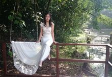 Bridal Photoshooting by Schnee Professional Make-up & Hairstylist