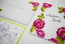 Undangan pernikahan simple & elegant by cerysinvitation