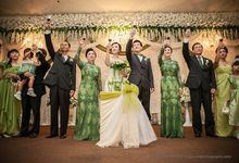 The wedding of Wiyono & Angelia by HD Photography