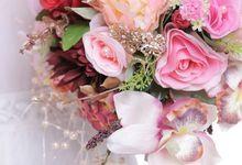GLAM WEDDING BOUQUET 2015 by LUX floral design