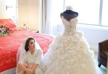 David & Steffenny by felicia sasongko wedding make up