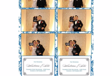 Wedding of A&S by lolphotobooth.co