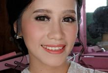 Pra Wedding Makeup for Ms. AriApriani Sitorus by Hana Gloria MUA