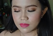 """The Bridesmaid Of 300121"" is Ms. Desyita by Hana Gloria MUA"