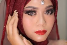 Beauty Photoshoot Kak Risa by Aprilianti Ramdani Makeup