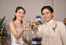 Girlie Chua Wedding by Orlan lopez