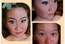 Before After Make up by Monika Sujono Make Up Artist