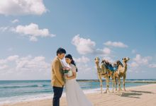 A Gorgeous Prewedding Shoot of Stella & Gunawan by Le Motion
