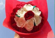 Jumbo Rose Bouquet by Love Spell Florist