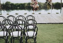 Modern Luxe Buffet Wedding by DIJON BALI CATERING