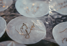 Place Card for Thomas & Elaine 's Wedding by Calligraphy by Zemangzkah