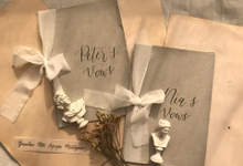 Vows book by Calligraphy.to