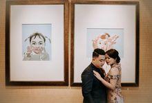 Engagement Yoseph & Sherly by Caleos Photography