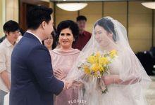 THE WEDDING OF #CalHerMine by Lila Rosé Weddings