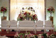 Weddding day of Andre & Febriyola at Angke Restaurant Kelapa Gading by Angke Restaurant & Ballroom Jakarta