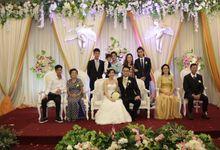 Weddding day of Johnny & Rikha at Angke Restaurant Kelapa Gading by Angke Restaurant & Ballroom Jakarta